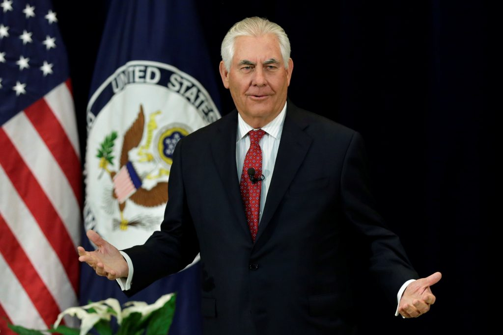 Tillerson, U.S., Nations, U.S. Values, Rights