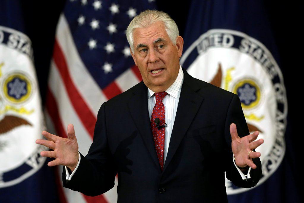 Tillerson, U.S., Russia