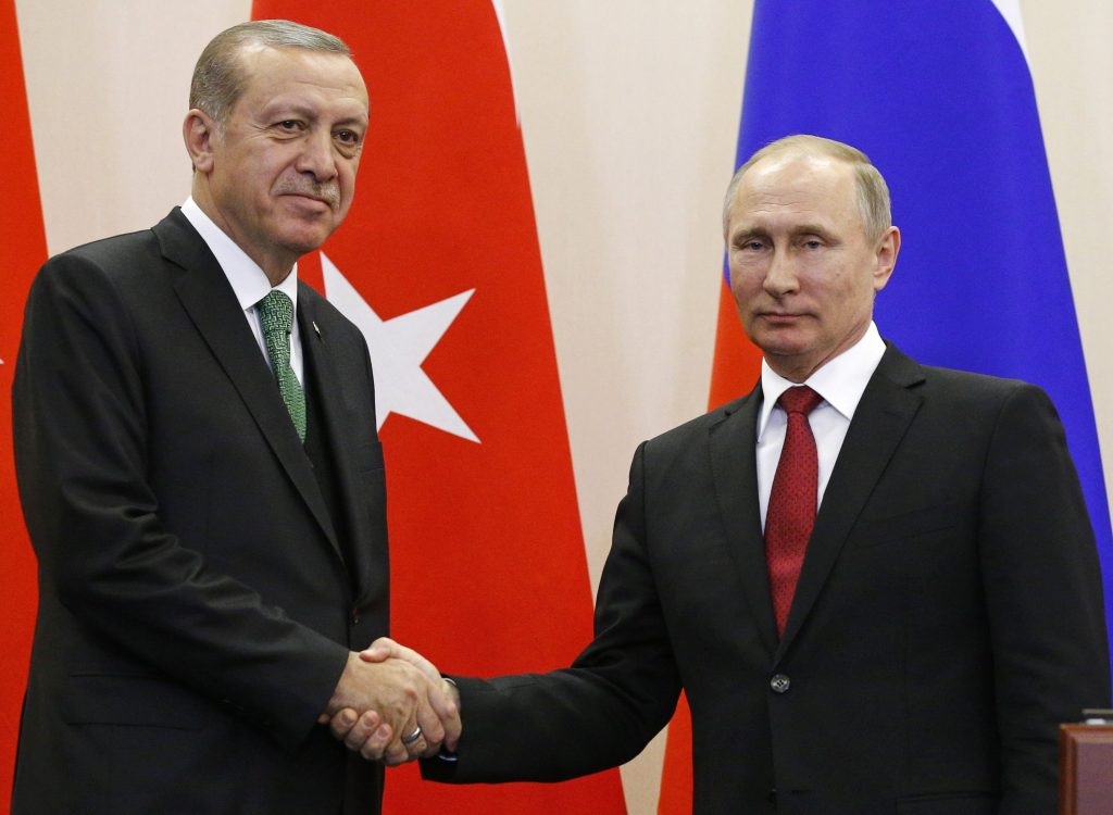 Russian, Turkish, Leaders, Re-affirm, Pact, Syria