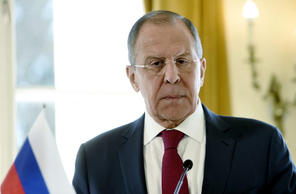 Lavrov, Washington