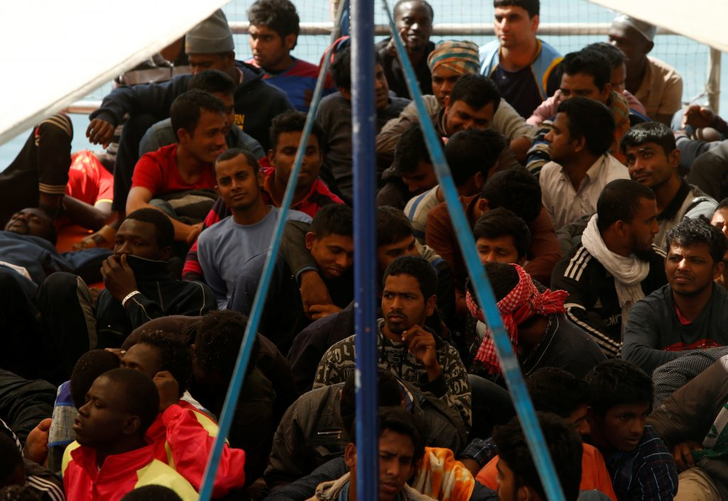 Italy, Rescues, Migrants, Secure, Southern Libya