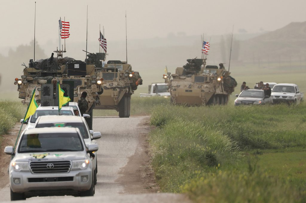 Turkey, U.S., Arm, Kurdish, Fighters, Syria