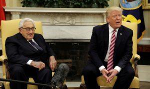 Trump, Kissinger