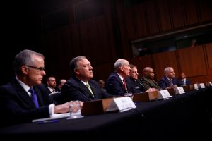 President Trump, Comey, Acting FBI Chief
