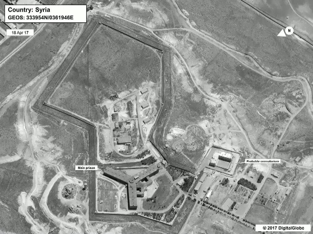 U.S., Syrians, Crematorium, Prison, Dispose, Bodies