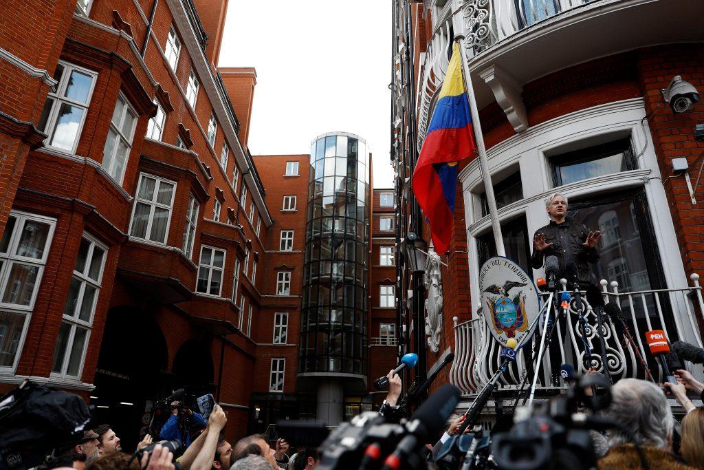 Assange WikiLeaks Sweden Ecuador Britain UK