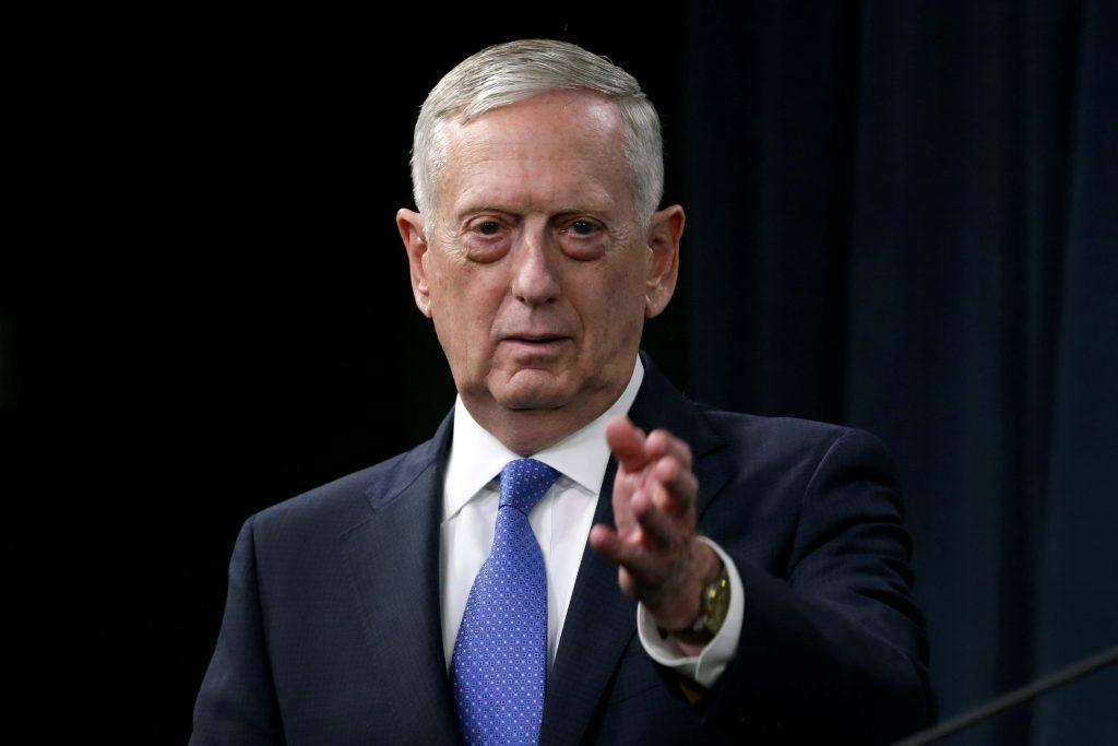 Mattis, U.S., Islamic State, Terrorists