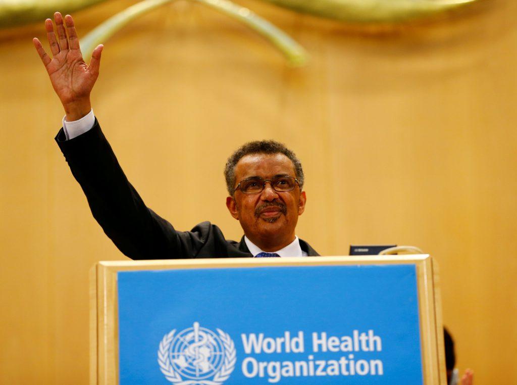 Ethiopia, Tedros, WHO race, African