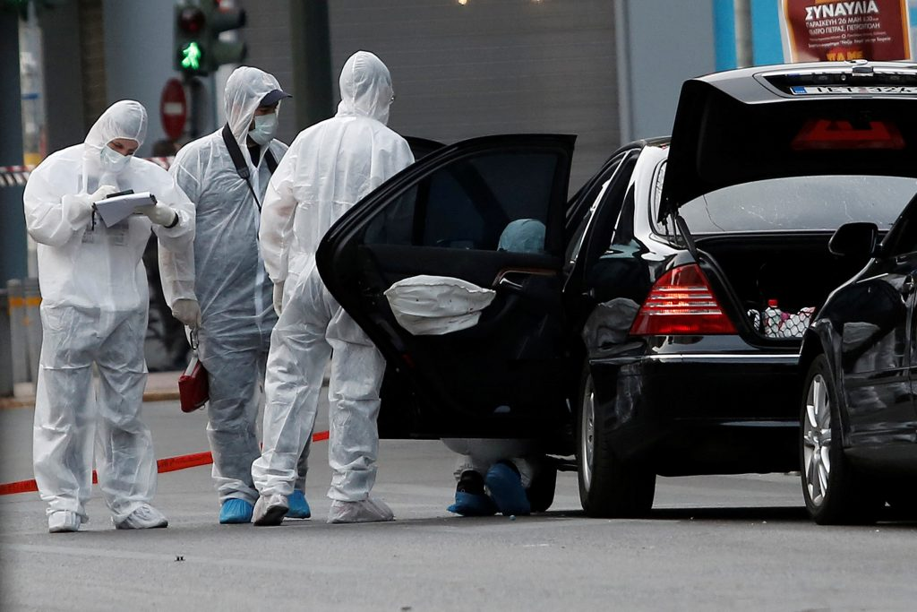 Car Blast, Injures, Former, Greek PM, Papademos