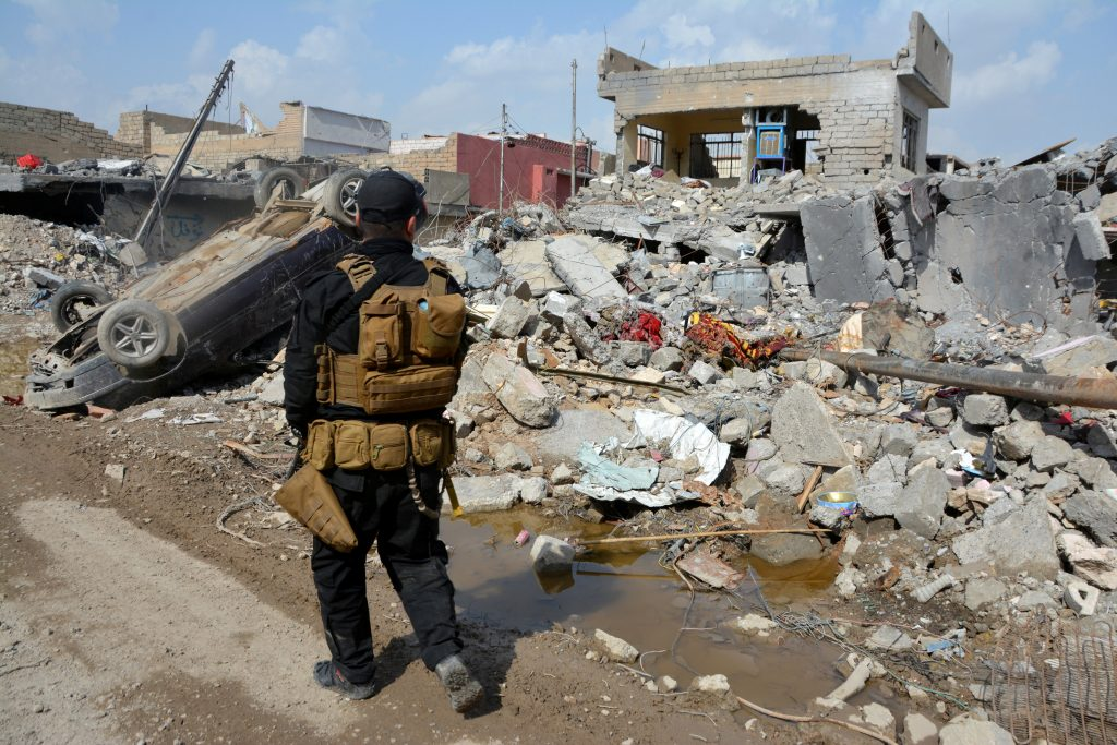 Probe, U.S. Bomb, Set Off, IS-Planted Devices, Mosul Tragedy