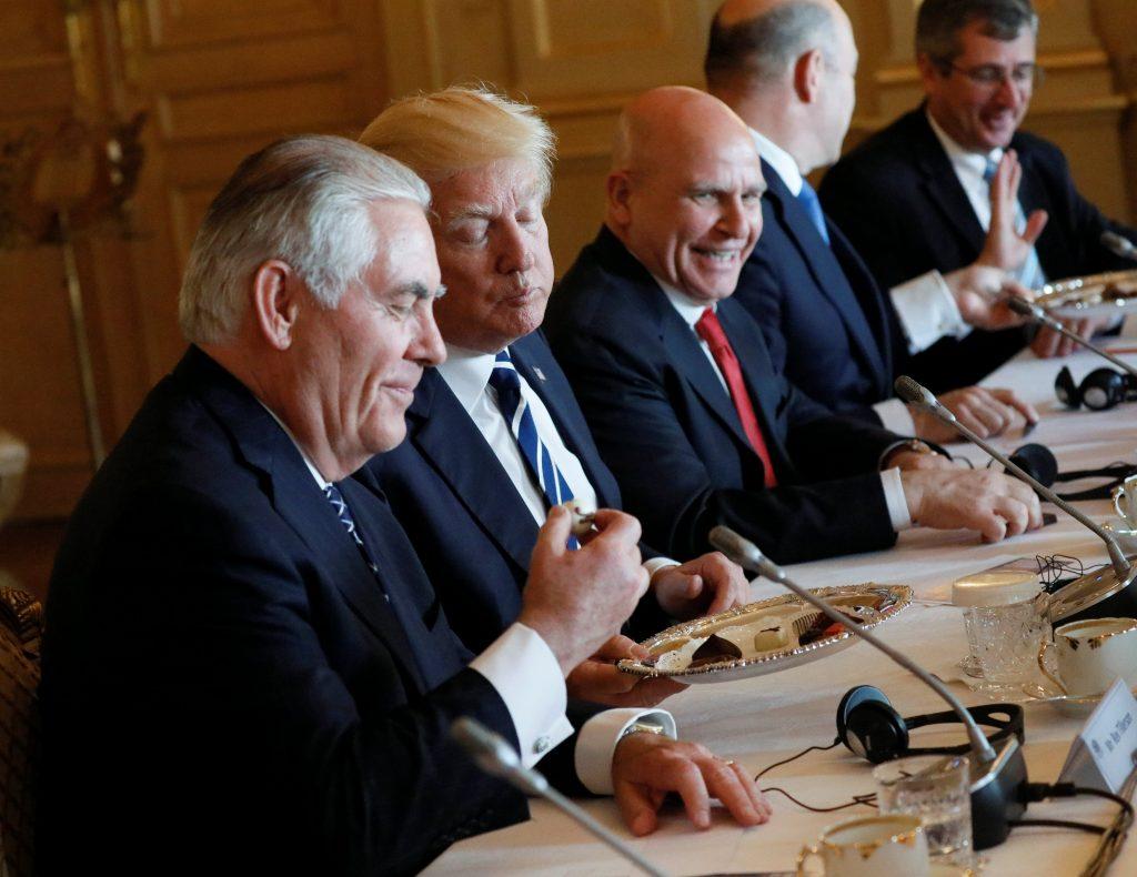 Tillerson, Trump, Heavy Pressure, Israel, Palestinans