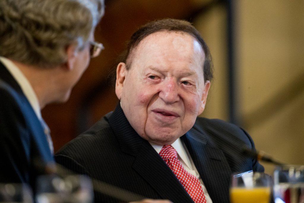 Report, Adelson, Denies, Media Deal, Netanyahu