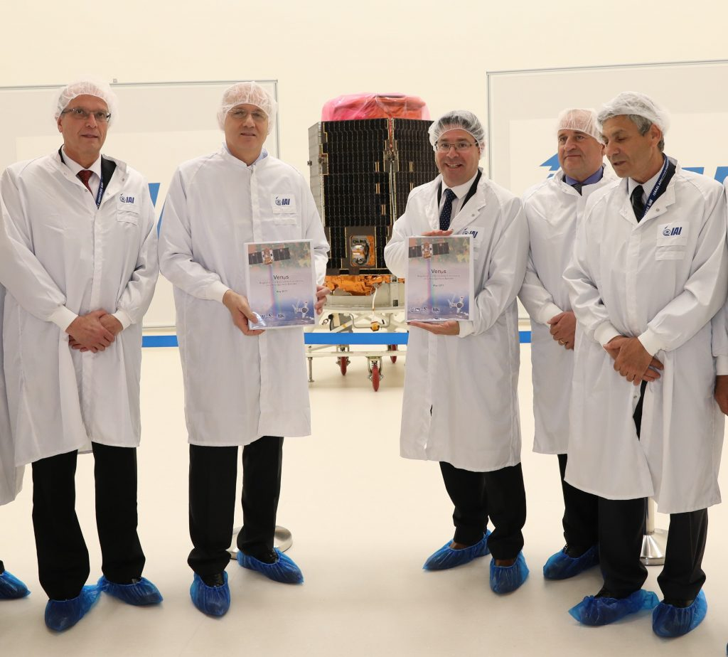 First, Israeli, Environmental Research, Satellite, Launch