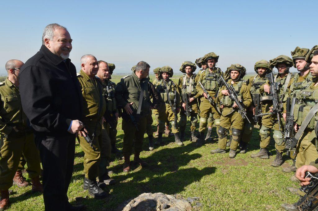 IDF, beards