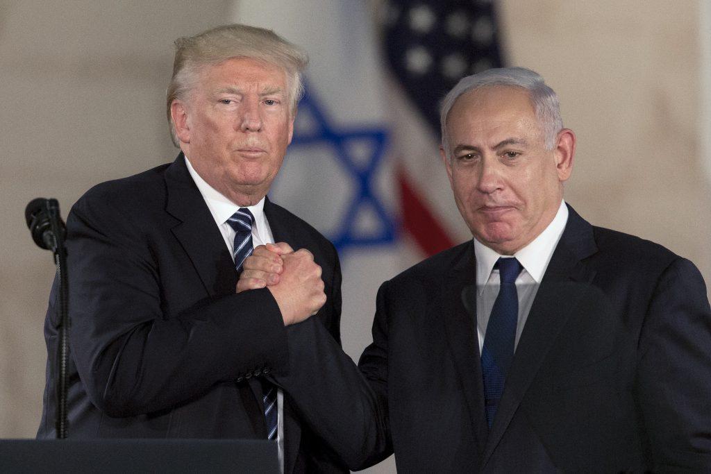 Israel Trump, peace, Palestinians, Netanyahu
