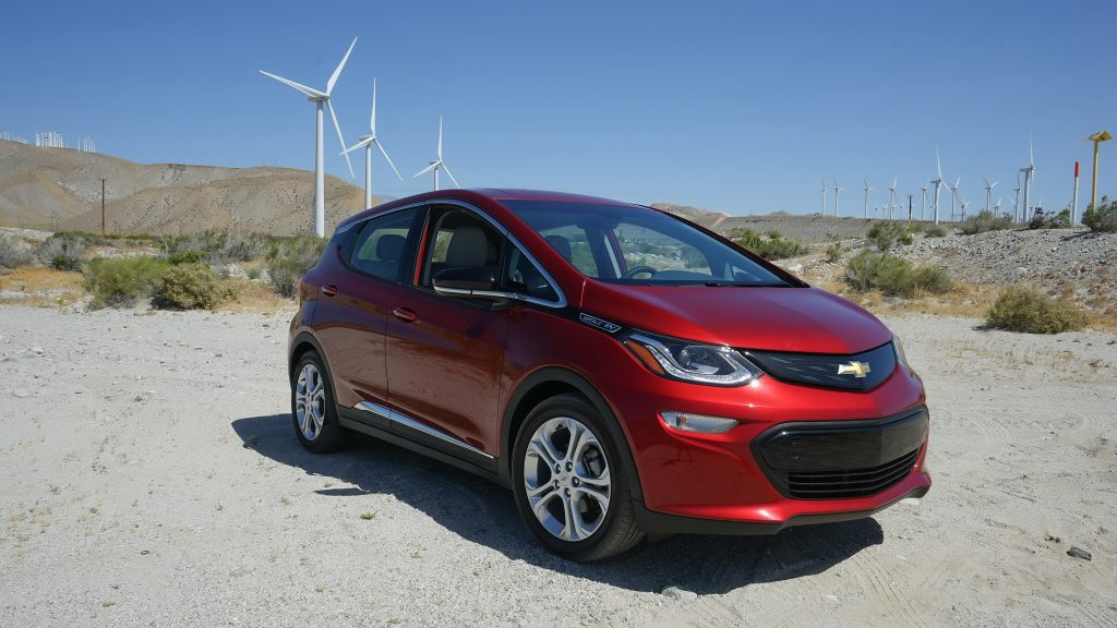 Chevy Bolt electric car