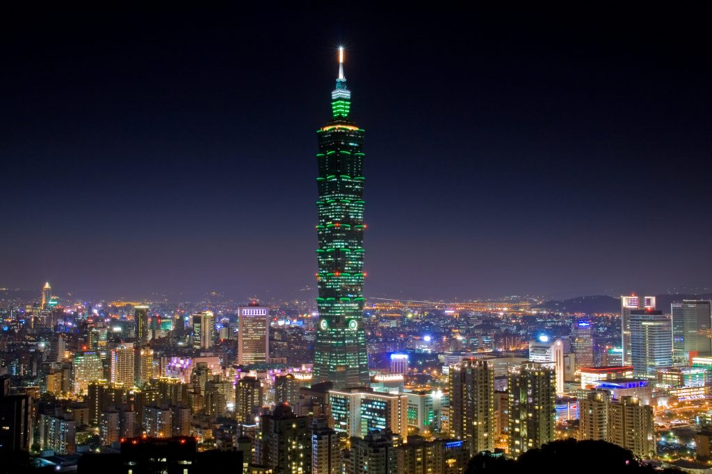 Australians, Race, Taiwan's Tallest Skyscraper