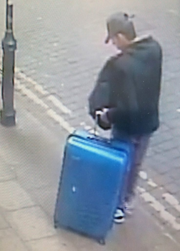 manchester suitcase, abedi