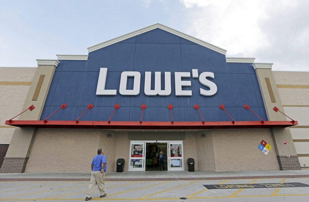 Lowe's, Disappoints, Improved Economy, Focus, Pro Customers