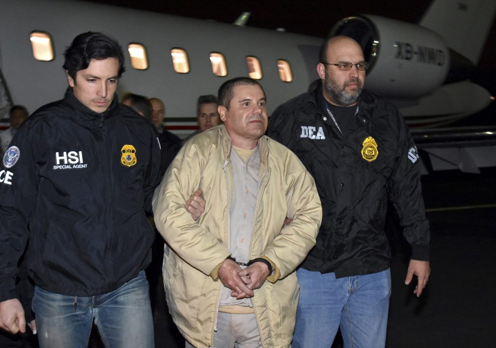 El Chapo, Guzman, trial