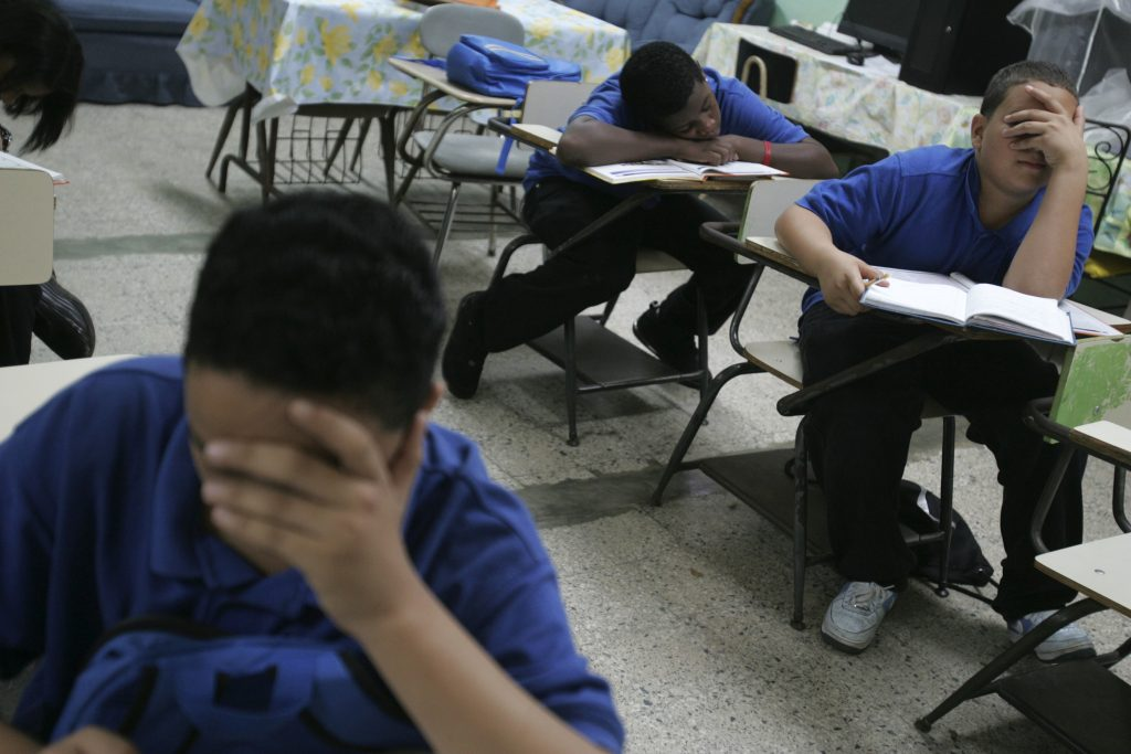 Puerto Rico, school, debt