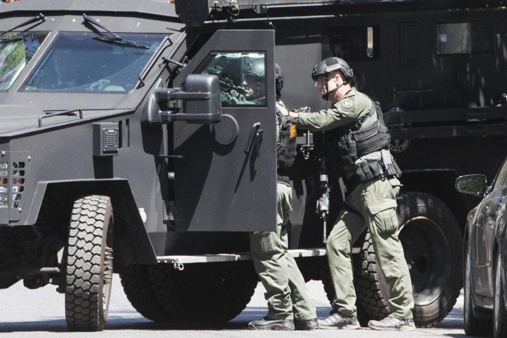 police, shooting, standoff, Trenton