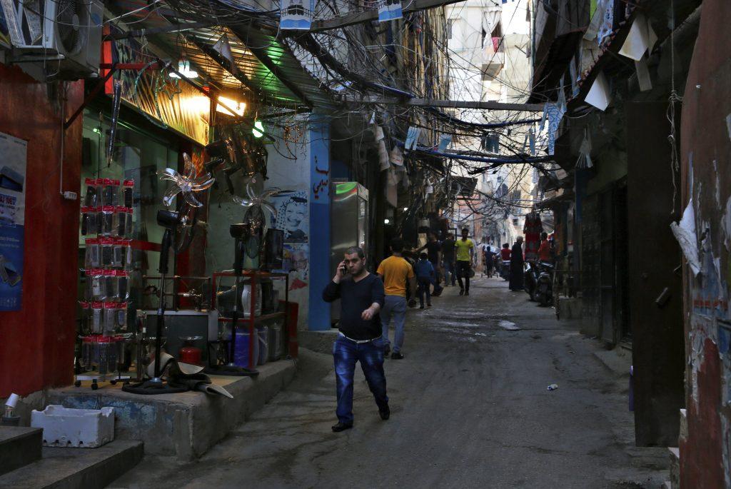 Palestinians, Lebanon, 69 Years, Despair