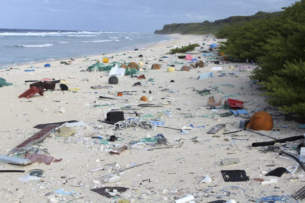 Scientists, 38 Million, Pieces of Trash, Pacific Island