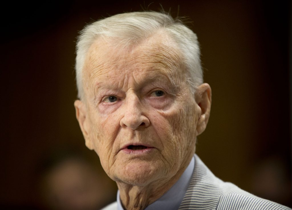 Carter, National Security Adviser, Zbigniew Brzezinski, Dies