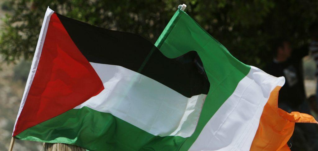Dublin, City Hall, Palestinian Flag