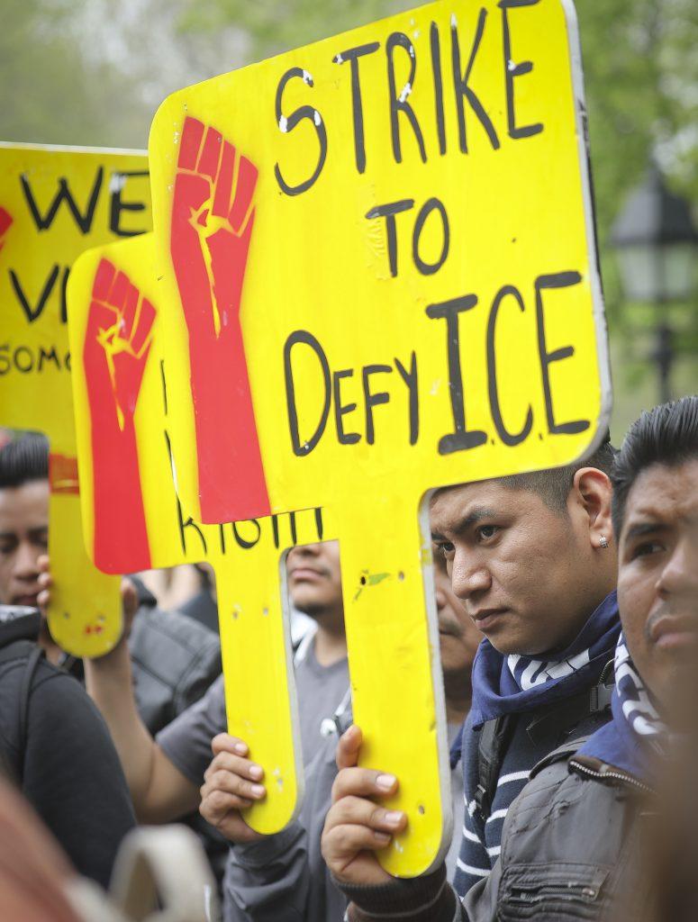 U.S., Rally, Trump, Workers