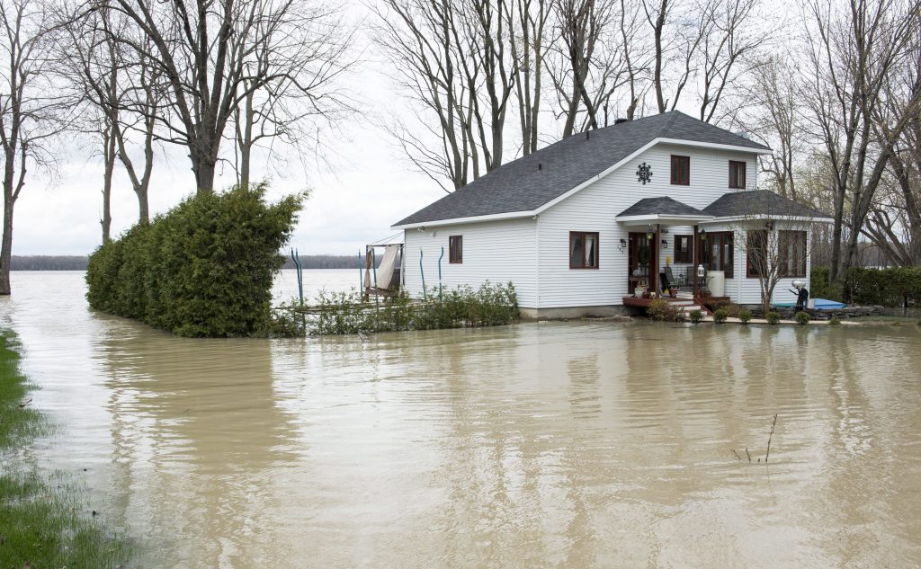 Flooding, Homes, Canadian Province