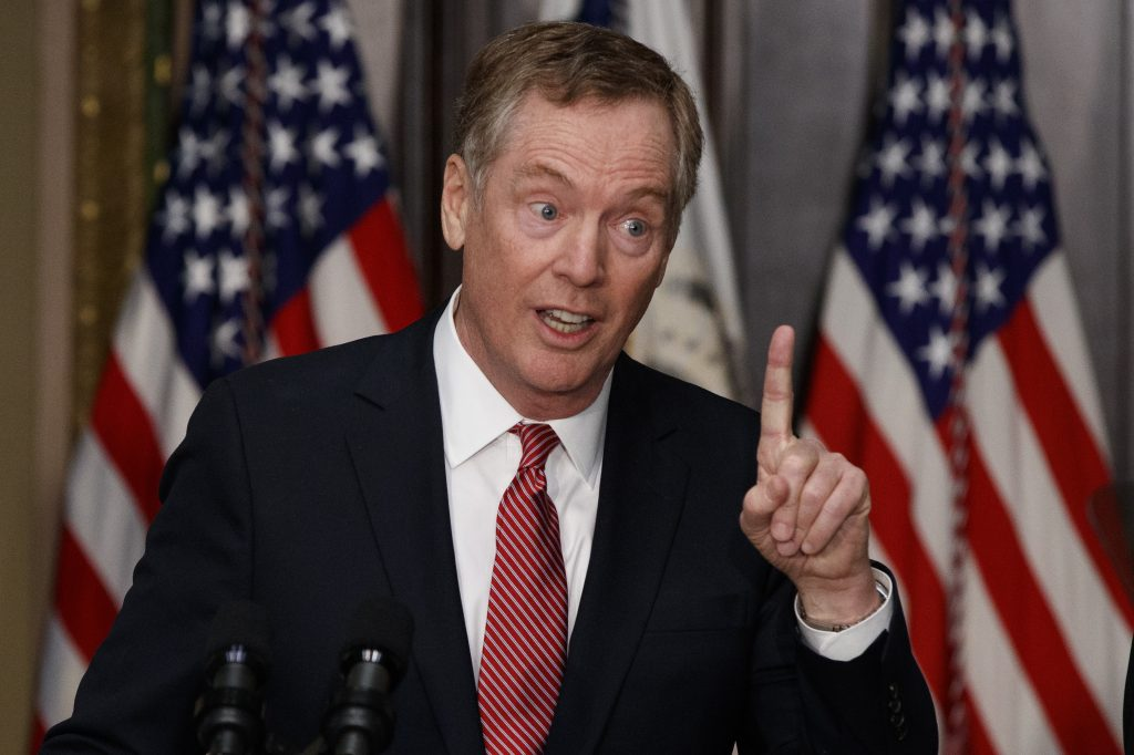 Robert Lighthizer trade NAFTA trade