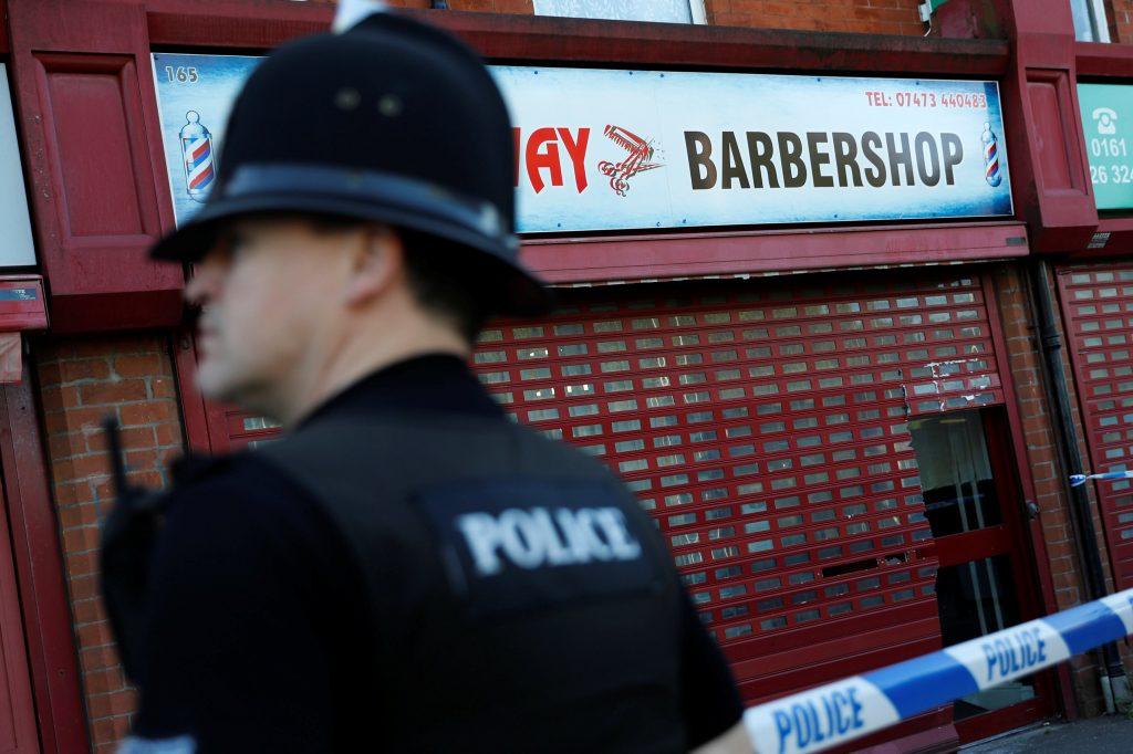 Manchester arrest, U.K., UK, police
