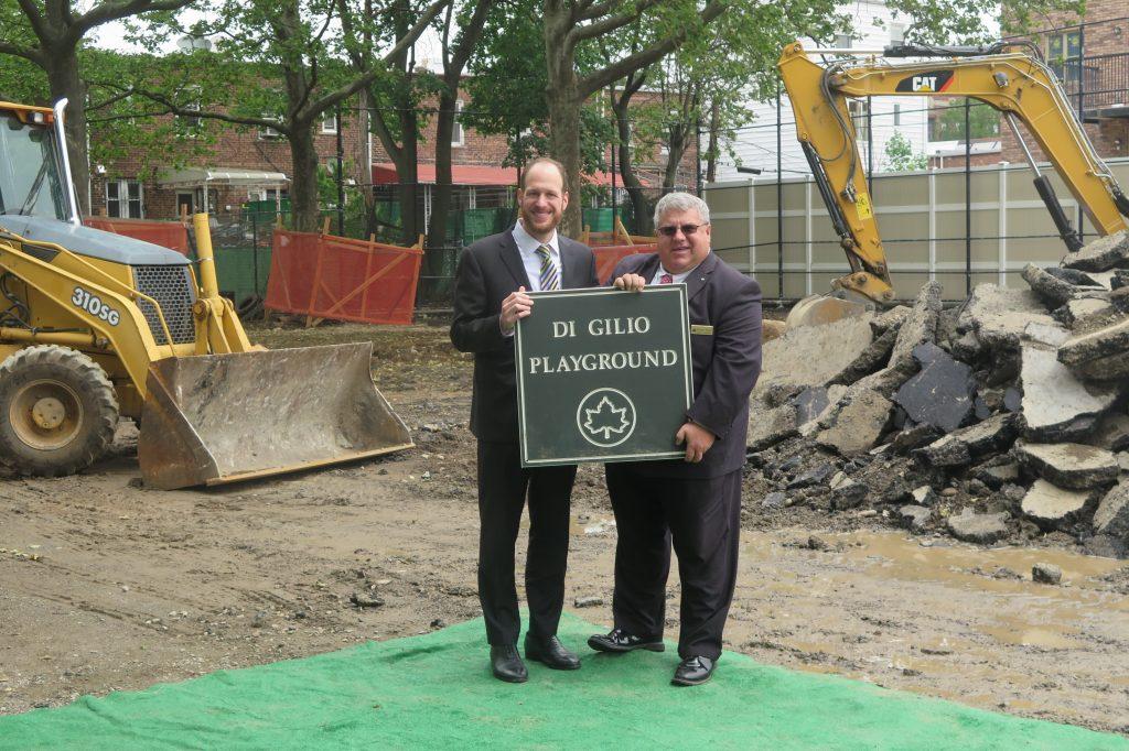Construction, Complete Overhaul, Avenue F Park