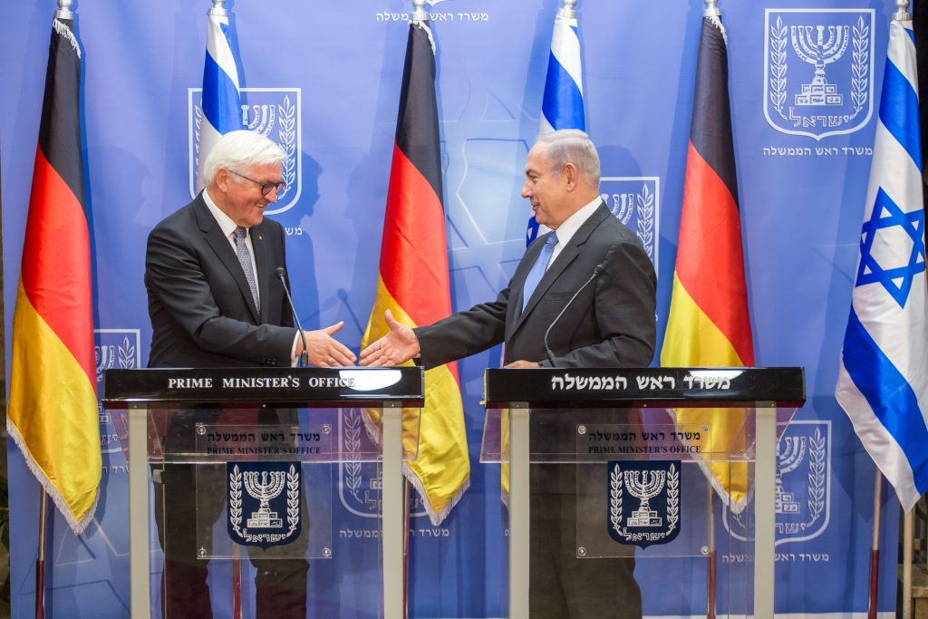 Germany Israel netanyahu Steinmeier