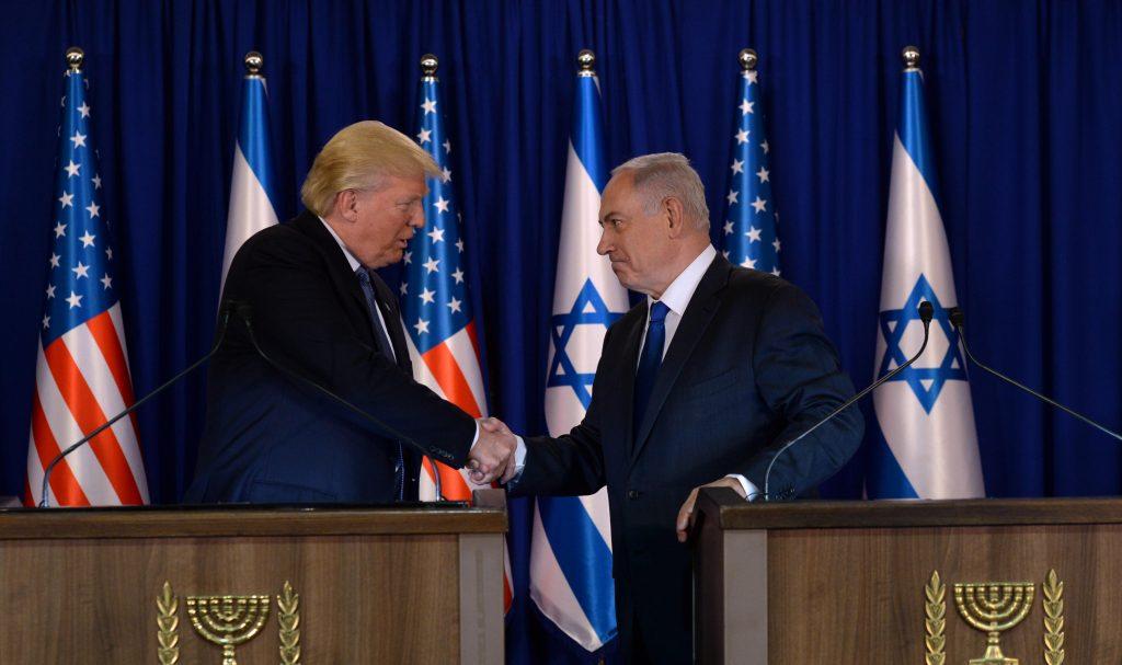 Trump, Netanyahu, Israel