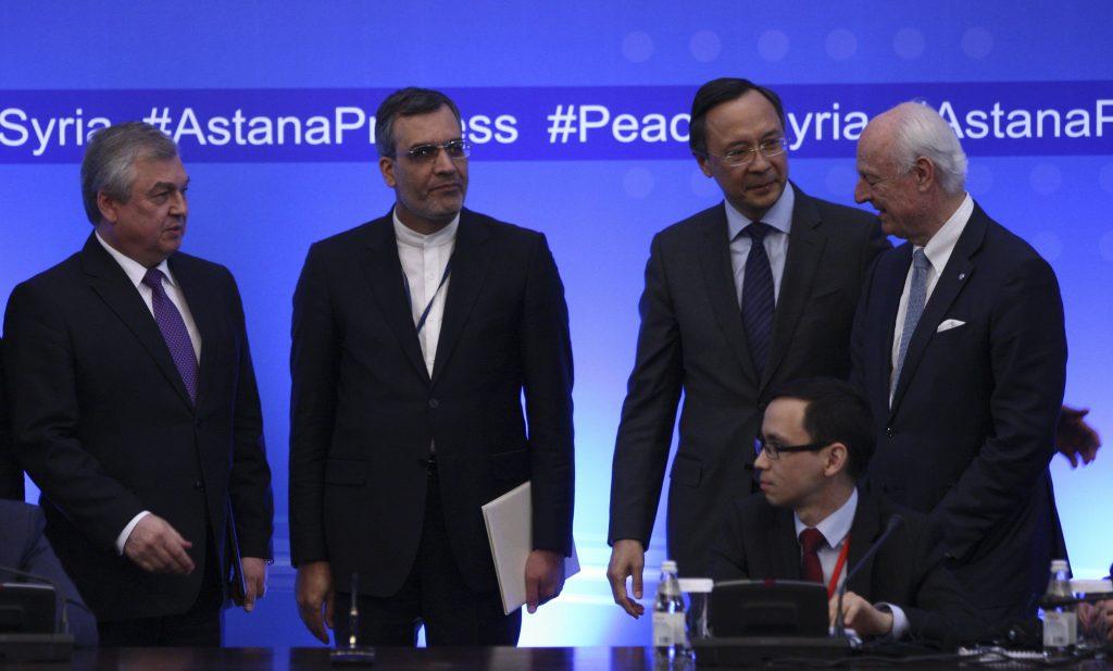 safe zones, Syria, Russia, Iran, U.S.