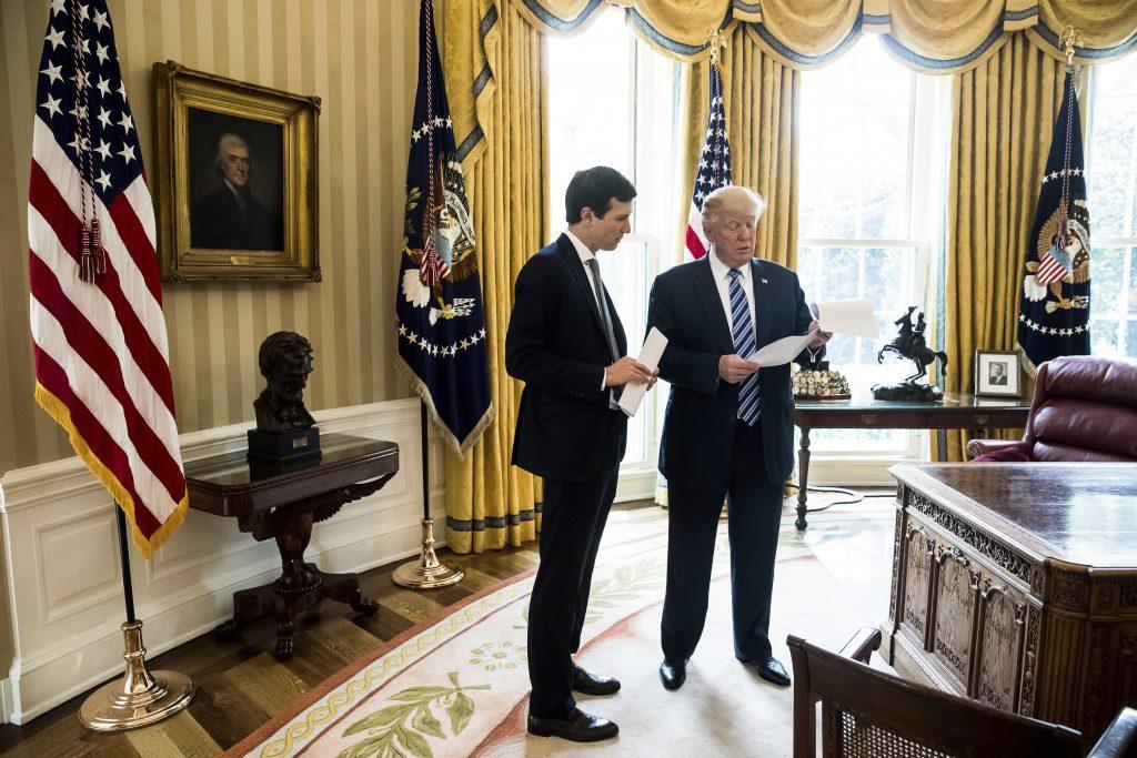 OPINION, Kushner, Trump