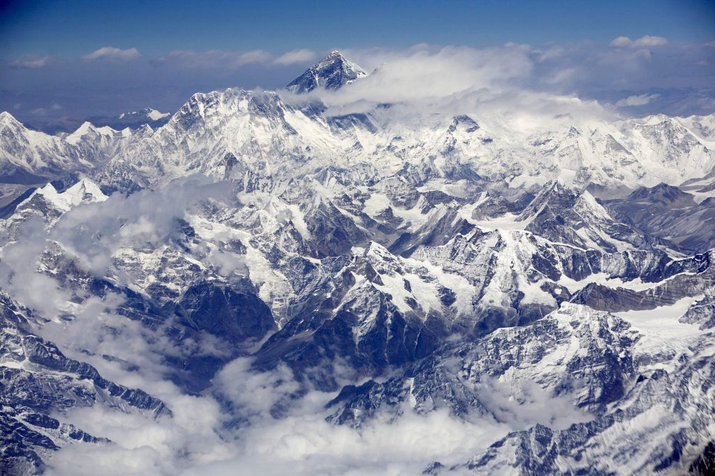 Mount Everest, Crowded, Traffic Jams