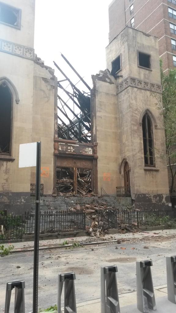 Fire, Lower East Side, Beis Medrash Hagadol