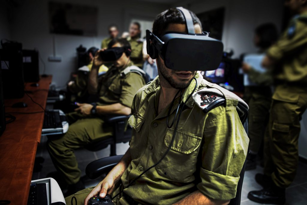 Oculus, Vive, Headsets, Israel's Army