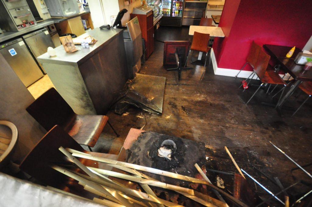 fire, arson, manchester kosher restaurant, anti-semitism