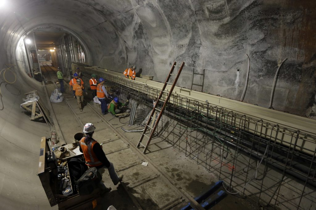 Long-Delayed, Tunnel Project, Leaves, NY Rail, Riders, Lurch