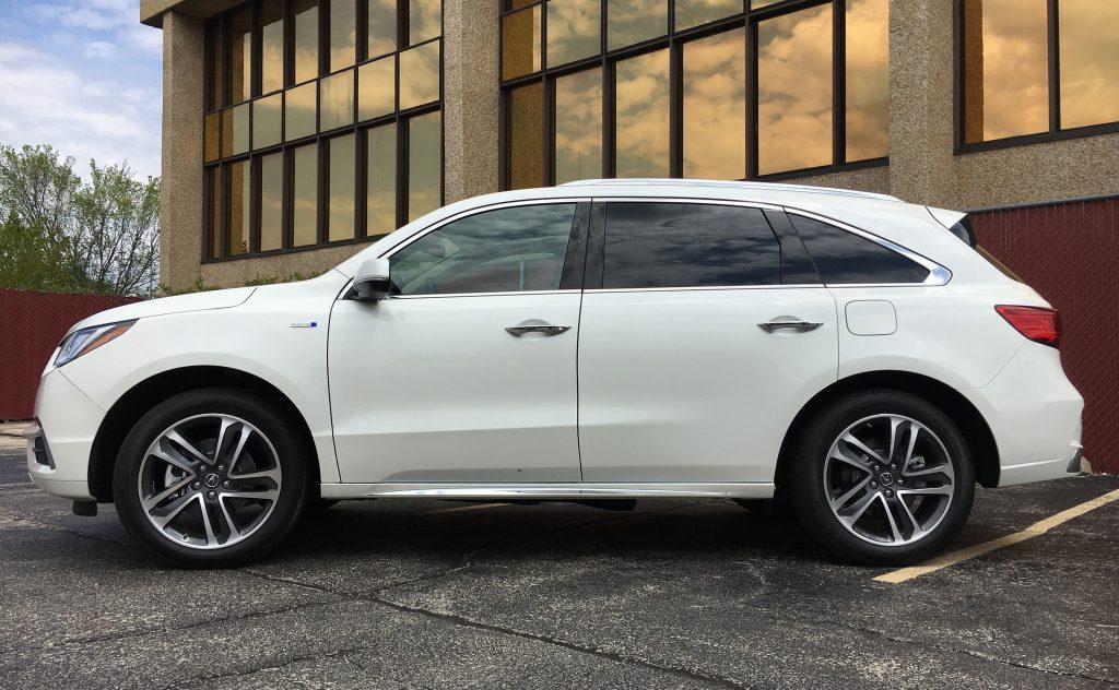 Acura MDX, Acura, MDX, Sport, Hybrid, 2017