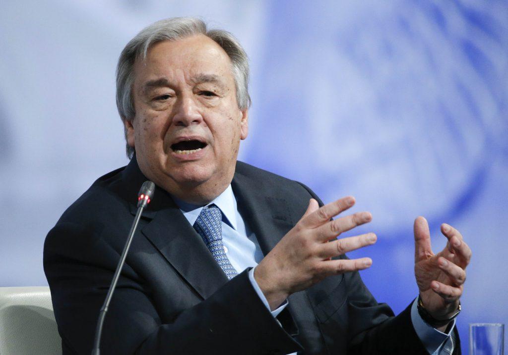 U.N. Secretary-General, Holds His Tongue, Human-Rights Violations