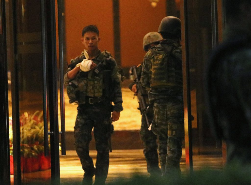 36, Dead, Botched Robbery, Philippines Casino
