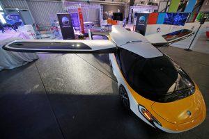 Paris Air Show, flying car