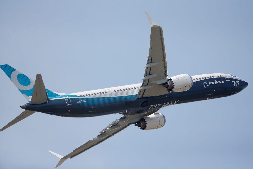 Boeing Paris air show, 737