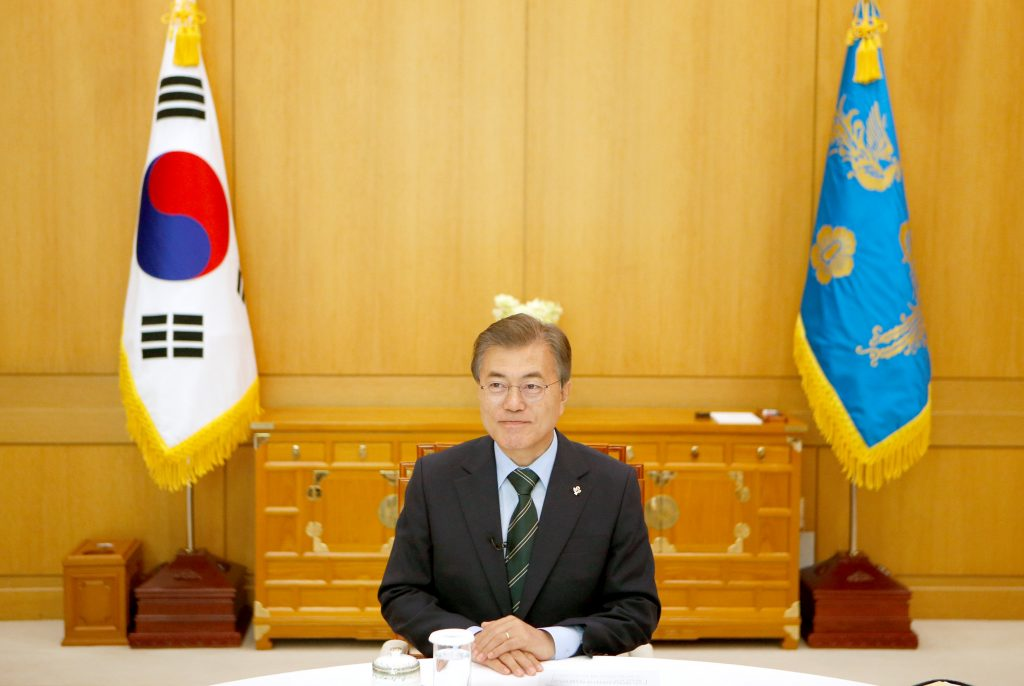 North Korea, Top of Agenda, South Korea, New President, Comes, D.C.